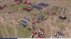 演习队伍全部抵达模拟灾区 救援演练开始