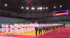 2020年全国柔道冠军赛在江苏溧阳开幕
